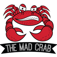 The Mad Crab logo.