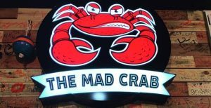The Mad Crab logo.