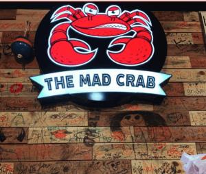 The Mad Crab logo
