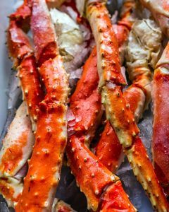 Fresh Crab Legs.